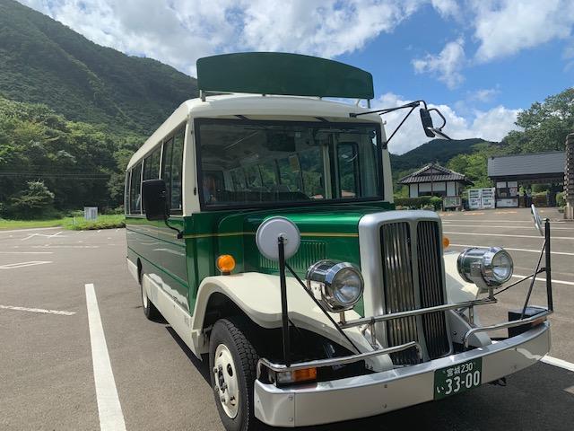 「秋保ボンネットバス」の運行が始まります